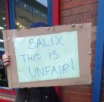 Salix Homes Protest Salford