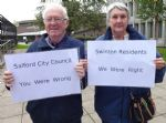 Saving Our Neighbourhood protests in Salford