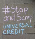 Stop and Scrap Universal Credit Demo Manchester