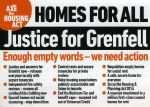 Salford Justice For Grenfell Meeting